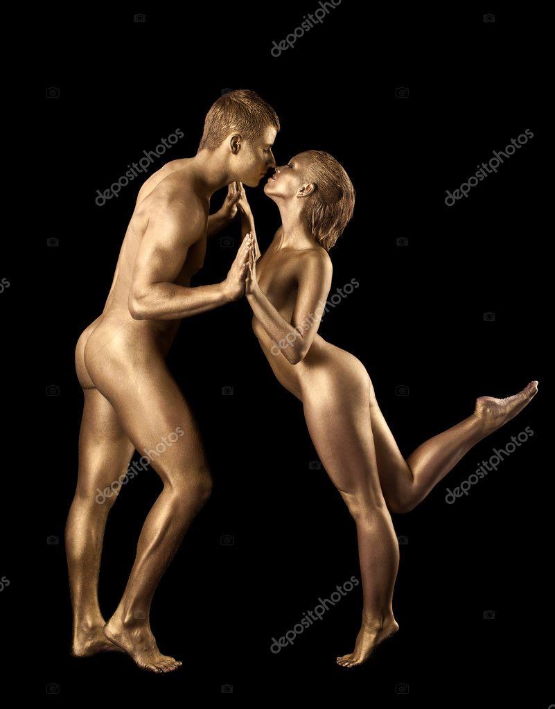 nude sexy couple dance