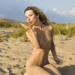 Nude girl. — Stock Photo