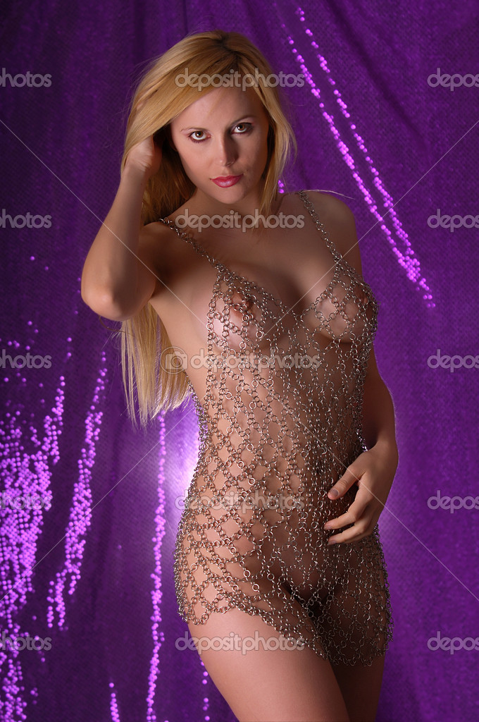Sexy nude blonde woman — Stock Photo #11629007